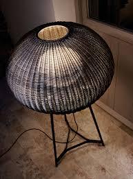 led indirect light polyethylene floor lamp garota p 02 bover il luminaci bover lighting