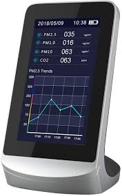 AZHF Dienmern Indoor Multi-Function air Detector ... - Amazon.com