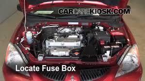 mitsubishi lancer fuse box diagram image replace a fuse 2002 2007 mitsubishi lancer 2005 mitsubishi on 2005 mitsubishi lancer fuse box diagram