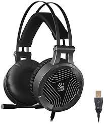 <b>Аудио гарнитура игровая проводная</b> A4Tech G530 черный/серый ...