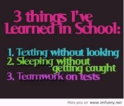 Funny Quotes About School Life Tagalog - funny quotes about school ... via Relatably.com