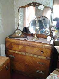 antique vintage waterfall art deco bedroom set 1920s 1930s 4 pieces in antiques art deco bedroom furniture art deco antique