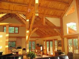 Timber Frame Homes   Building Simpler  Smaller  Hybrid Homes    Goshen Timber Frame Hybrid HOme