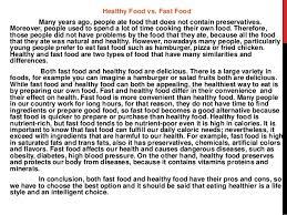 argumentative essay about healthy food  homework for you