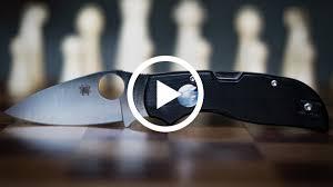 Видео: Презентация оригинального <b>ножа Spyderco Chaparral</b> ...