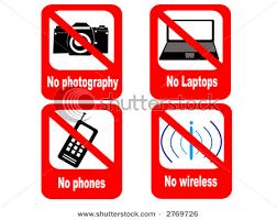 No Media sign