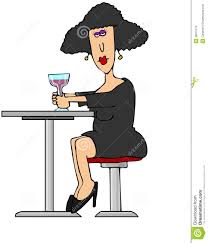Image result for photo of woman having a glass of wine