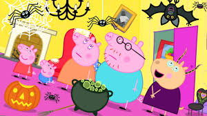Peppa Pig Official Channel Madame <b>Gazelle's</b> Spooky House ...