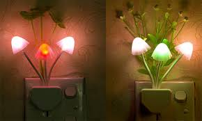 Gadgetdeal 24: Novelty <b>Mushroom Fungus Night</b> Light US Plug ...