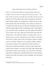 eminem final long essay submit