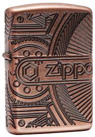 "<b>Зажигалка Zippo</b> ""<b>Armor™"" с</b> покрытием Antique Copper™, латунь ..."