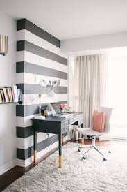 accent office interiors blog lesley myrick striped accent wall via interior stylist medical office interior design accent office interiors
