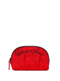 white polka dots print polyester makeup bag make up organizer holder black for women