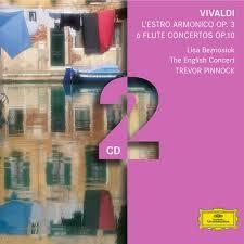 Simon Standage, The English Concert, <b>Trevor Pinnock</b> - <b>Vivaldi</b>
