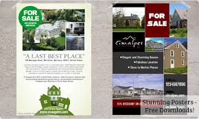 real estate flyers  templates amp printing  postermywall easy to use real estate flyer maker
