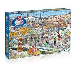 <b>I Love Winter</b> 1000pc Puzzle | Waterstones