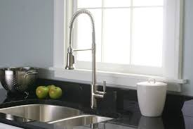 parma kitchen faucet hands free ssjpg premier faucet lf essens quotcommercial stylequot pull down kitchen fa