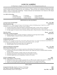 resume objective great objective for internship resume