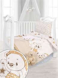 "<b>Комплект</b> постельного белья в кроватку ""<b>Кроха</b>"", сатин 110*140 ..."