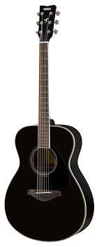 <b>Акустическая гитара Yamaha FS820</b> Black, Ямаха в Москве ...