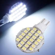 SL 10Pcs <b>T10 1210</b> 24SMD W5W LED 12V Car Interior Reading ...