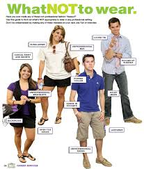 professional attire career services tarleton state university what not to wear unprofessional outfits