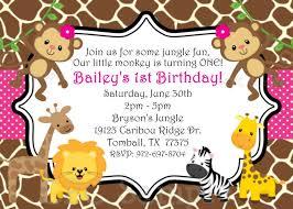 safari themed first birthday invitation wording birthday safari themed first birthday invitation wording