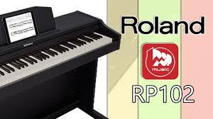 <b>Цифровое</b> фортепиано <b>ROLAND</b> RP102 - YouTube