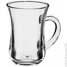 <b>Чашка Pasabahce</b> для кофе <b>145</b> мл — 6 шт. — стекло цвет ...