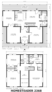 Prefabricated Homes  Prefab Houses   Double S Homes BC CanadaHomesteader   A two storey house plan