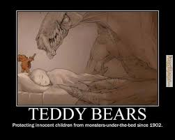 FunnyMemes.com • Cute memes - [Teddy bears protecting innocent ... via Relatably.com