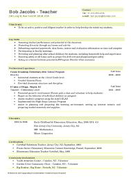 sample teaching resume format   professional letter of referencesample teaching resume format  teacher resume templates free sample example format elementary teacher resume hashdoc