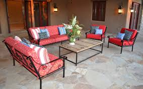 red patio chairs home decor ideas