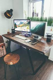 home office desk wood industrial style designer workspace by vadim sherbakov home office deskrustic beautiful rustic home office desks introducing