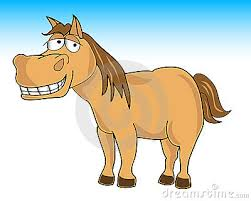 Image result for cartoon shy horse