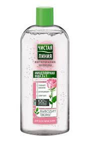<b>Мицеллярная вода</b> ЧИСТАЯ ЛИНИЯ цветочная <b>3-в</b>-1   Watsons