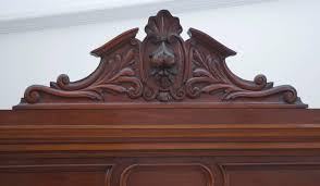 large antique french napoleon iii armoire in mahogany circa 1870 antique mahogany armoire