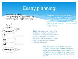 Essay planning  Research  Begin the essay writing process by researching your topic  making