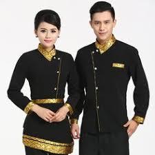 Buy << Short Sleeve Women <b>Chinese Restaurant Waiter Uniform</b> ...