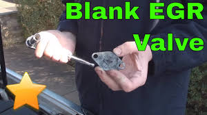 How to: Fit a <b>EGR Blanking Plate</b> on a Diesel Engine - YouTube