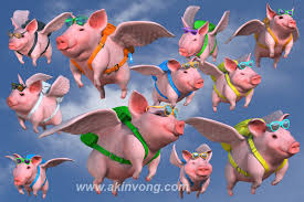 Image result for flying pigs and hogs, cows 2