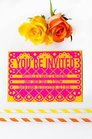 printable editable papel picado mexican wedding invitation printable papel picado mexican wedding invitations editable 2