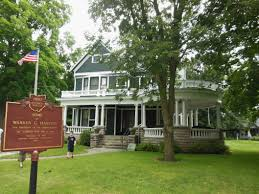 「Harding's Marion home was later designated a National Historic Landmark」の画像検索結果