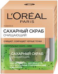 <b>L'Oreal</b> Paris <b>Сахарный</b> скраб для лица, очищающий ...