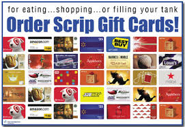 Image result for scripts gift card fundraiser