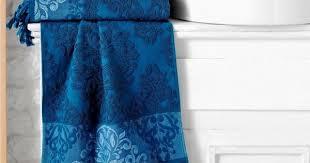 <b>Полотенце</b> махровое <b>ЖАККАРД KARNA OTTOMAN</b> Синее ...