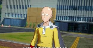The hero from <b>One Punch Man</b>: A Hero Nobody Knows one-hit-KOs ...
