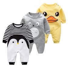 2019 Newborn Baby <b>Spring autumn</b> Cotton Clothing <b>Orangemom</b> ...