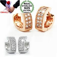 <b>OMHXZJ WHOLESALE Fashion</b> girlfriend jewelry AAA zircon V ...