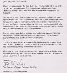 pets in the classroom letters from teachers education grants letter from a teacher